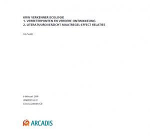 Evaluatie KRW-verkenner ecologie