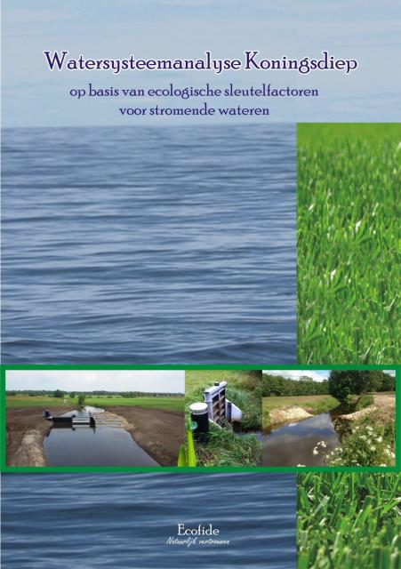 Watersysteemanalyse Koningsdiep op basis van ecologische sleutelfactoren