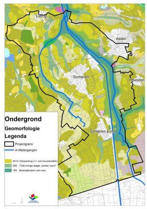 Watersysteemanalyse Aadal-Zuid